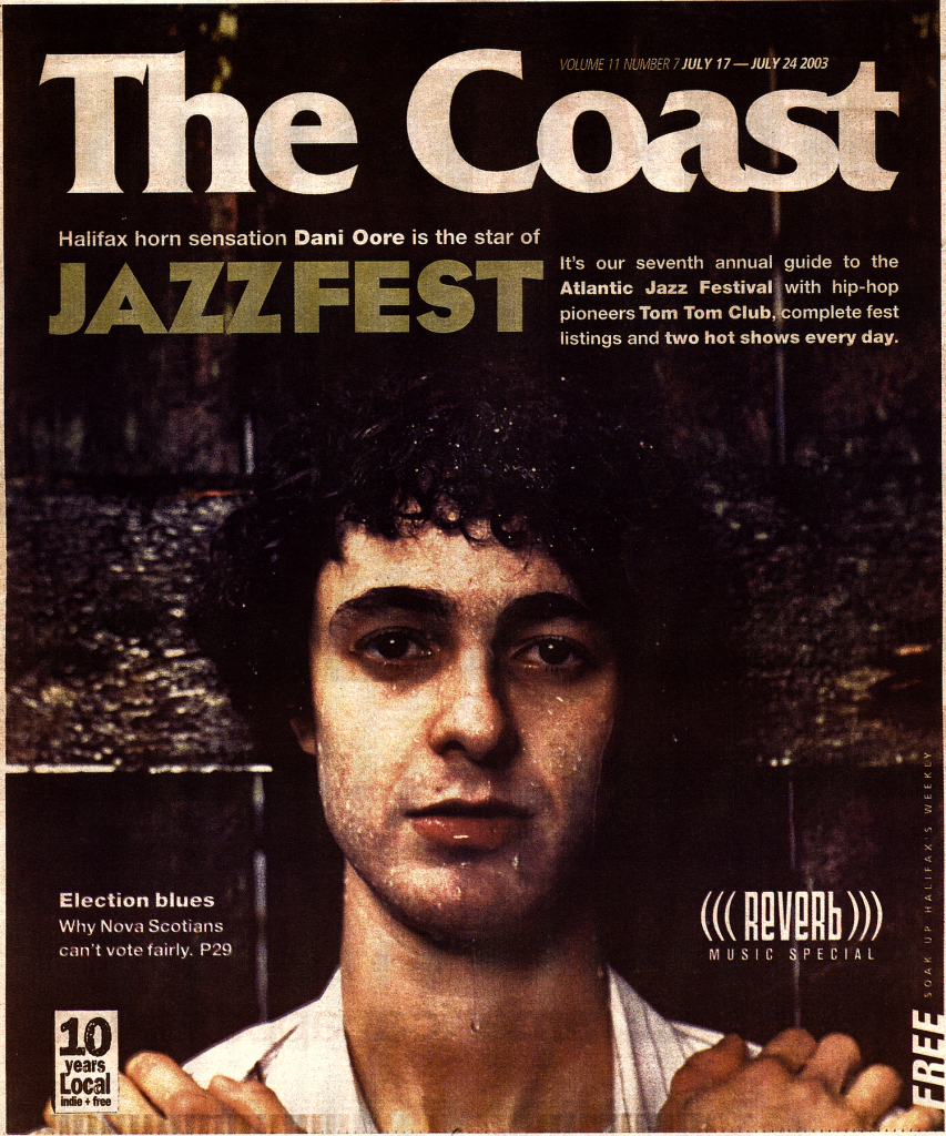 coast cover danny daniel dani oore (photo: scott munn)
